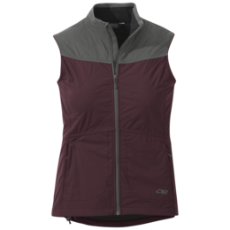 OR Women's Microlight Vest pinot/pewter