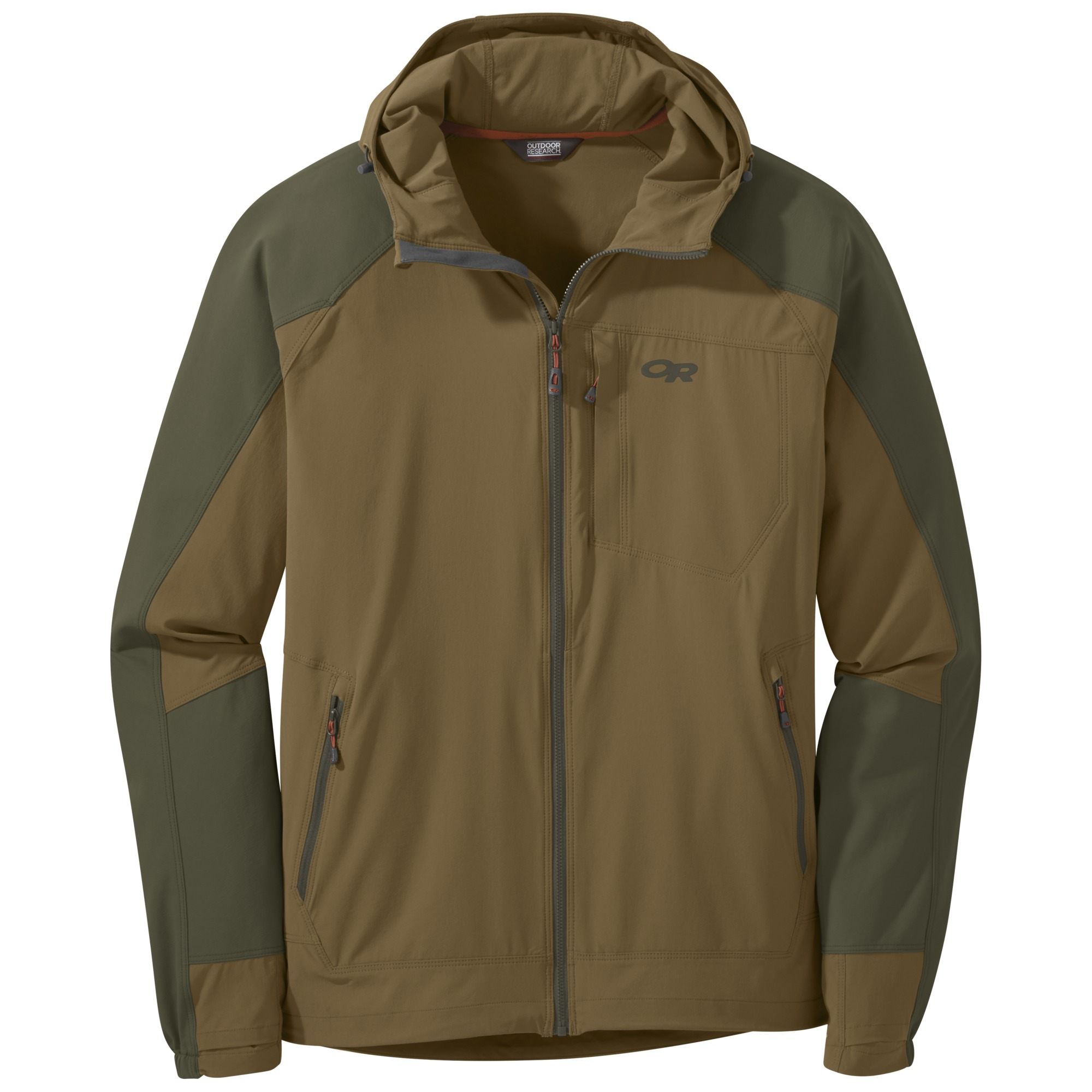 2927fd137a19d Men's Ferrosi Hooded Jacket - coyote/fatigue | Outdoor Research