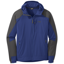 OR Men's Ferrosi Hooded Jacket sapphire/storm