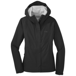 OR Women's Apollo Rain Jacket black