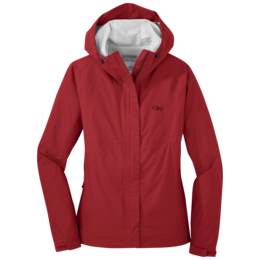 OR Women's Apollo Rain Jacket tomato