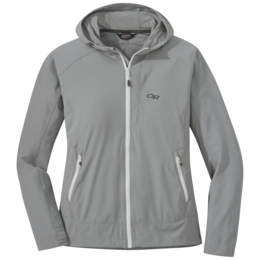 OR Women's Ferrosi Hooded Jacket light pewter