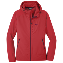 OR Women's Ferrosi Hooded Jacket teaberry