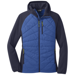 OR Women's Refuge Hybrid Hooded Jacket lapis/naval blue