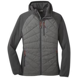 OR Women's Refuge Hybrid Hooded Jacket pewter/storm