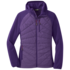 OR Women's Refuge Hybrid Hooded Jacket purple haze/dark basalt