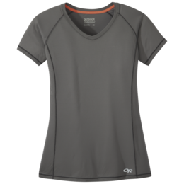 OR Women's Echo S/S Tee pewter