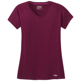 OR Women's Echo S/S Tee garnet