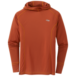 OR Men's Echo Hoody burnt orange