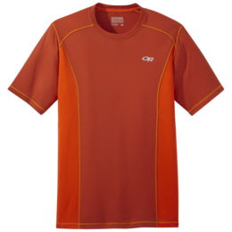 OR Men's Echo S/S Tee burnt orange/paprika