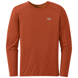 OR Men's Deception L/S Tee burnt orange