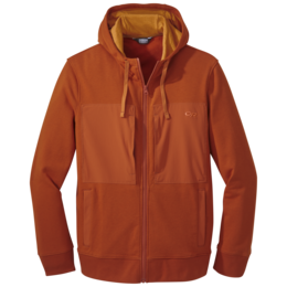 OR Men's Cam Full Zip Hoody burnt orange