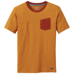 OR Men's Axis S/S Tee pumpkin