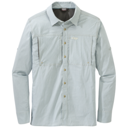 OR Men's Baja Sun L/S Shirt sand check