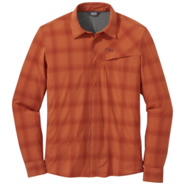 OR Men's Astroman L/S Sun Shirt burnt orange