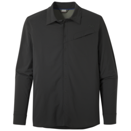 OR Men's Astroman L/S Sun Shirt solid black