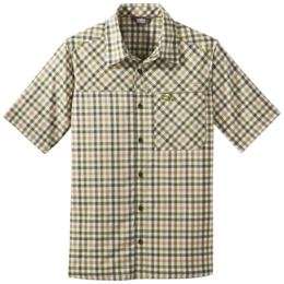 OR Men's Discovery S/S Shirt seaweed plaid