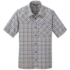 OR Men's Discovery S/S Shirt steel blue plaid