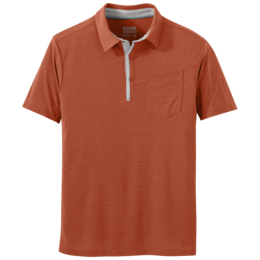 OR Men's Clearwater Polo burnt orange