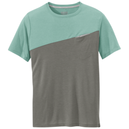 OR Men's Clearwater S/S Tee seaglass/pewter
