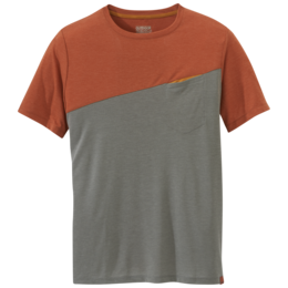 OR Men's Clearwater S/S Tee burnt orange/pewter
