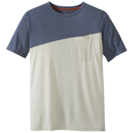OR Men's Clearwater S/S Tee steel blue/sand