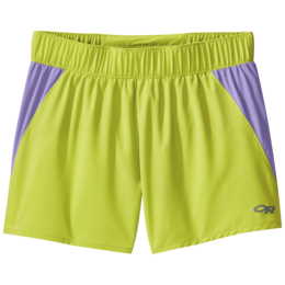 OR Women's Windward Shorts chartreuse/thistle