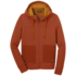 OR Women's Cam Full Zip Hoody burnt orange
