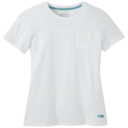 OR Women's Axis S/S Tee white