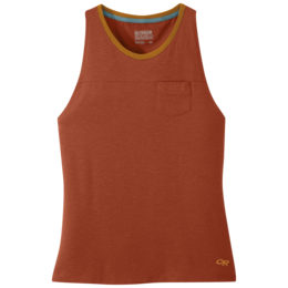OR Women's Axis Tank burnt orange
