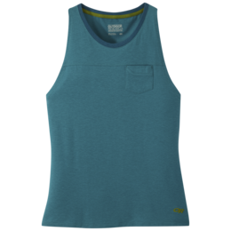 OR Women's Axis Tank washed peacock