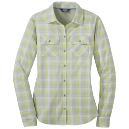 OR Women's Passage L/S Shirt alloy plaid