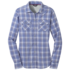 OR Women's Passage L/S Shirt hydrangea plaid