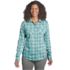 OR Women's Passage L/S Shirt seaglass plaid