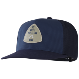 OR Performance Trucker -Go with the Flow naval blue