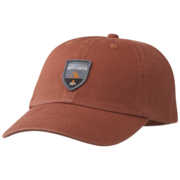 OR Trad Dad Hat happy camper-burnt orange
