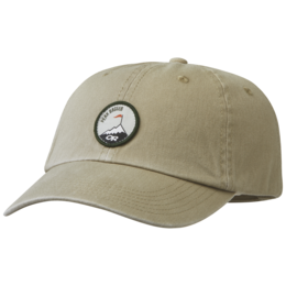 OR Trad Dad Hat peak bagger-hazelwood