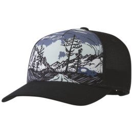 OR Alpenglimmer Trucker Hat black