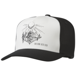 OR Moonshine Trucker Hat white/black