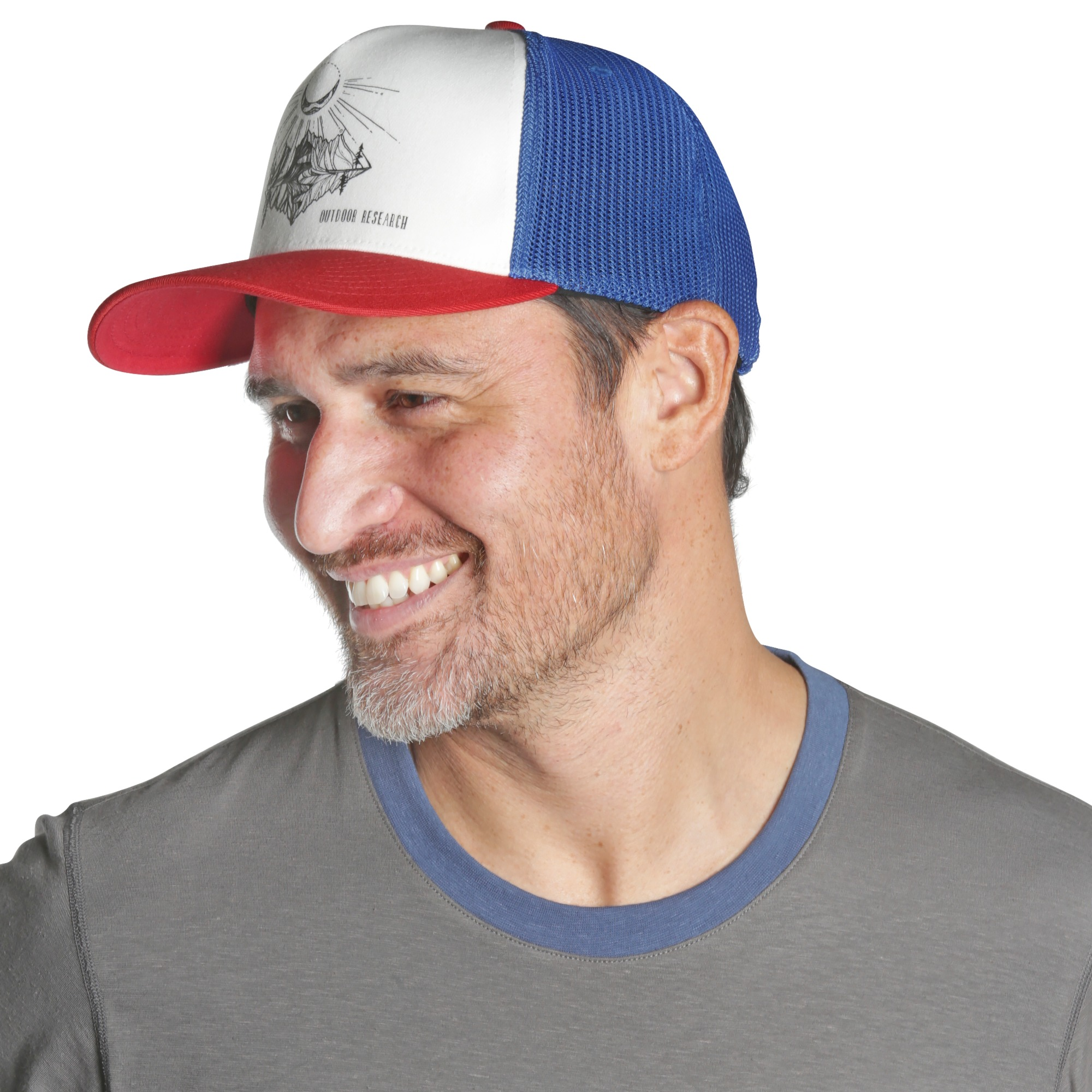 5ba211777bf Moonshine Trucker Hat - white/black | Outdoor Research