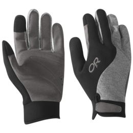 OR Upsurge Paddle Gloves black/charcoal heather