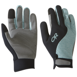 OR Upsurge Paddle Gloves black/seaglass