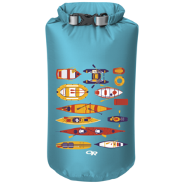 OR Graphic Dry Sack 15L Paddle Party typhoon