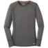 OR Women's Echo L/S Tee pewter