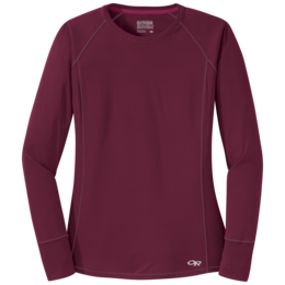 OR Women's Echo L/S Tee garnet