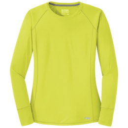 OR Women's Echo L/S Tee chartreuse