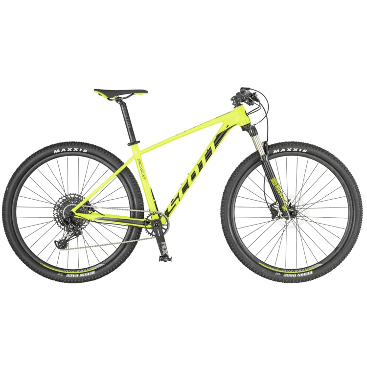Bicicletta SCOTT Scale 980 yellow/black