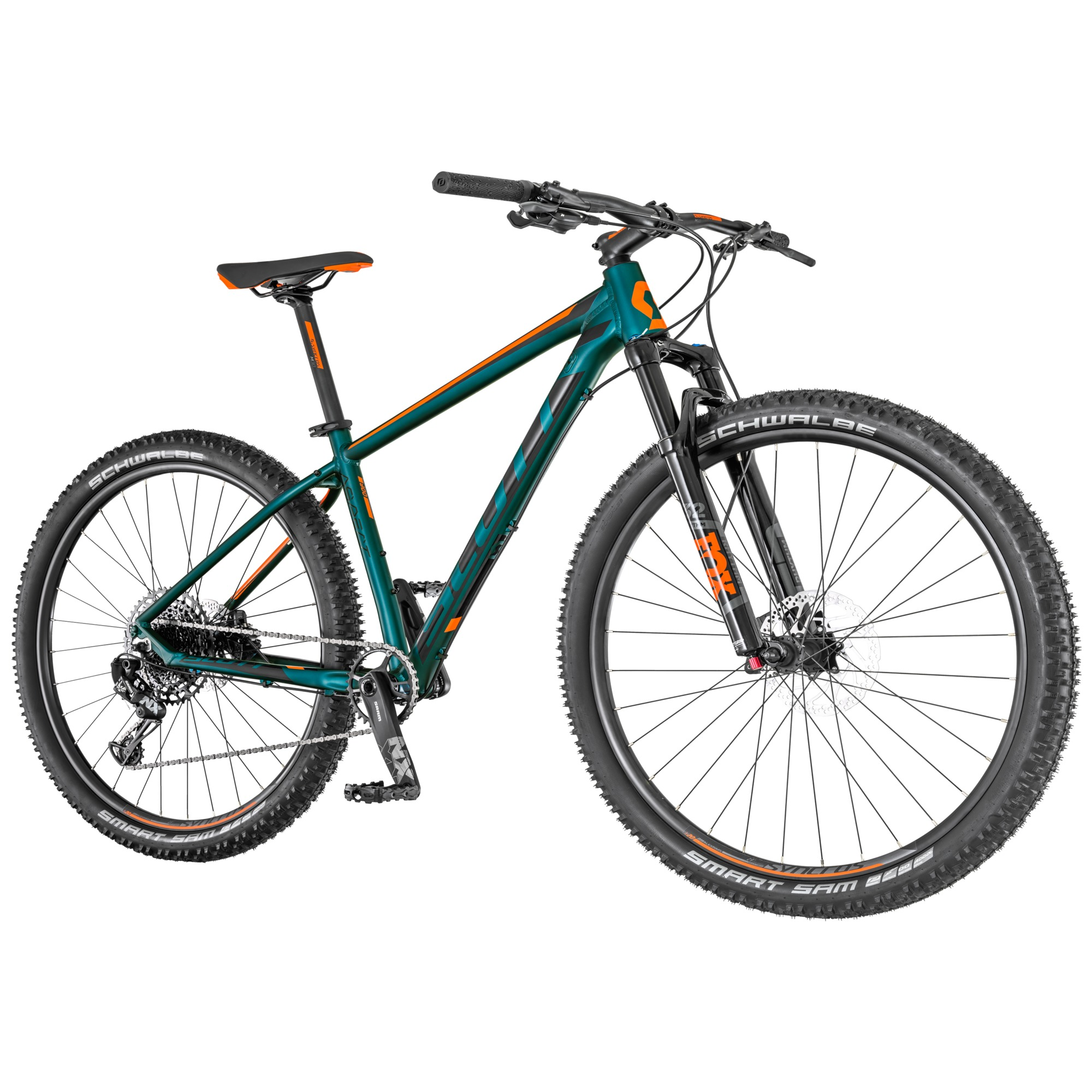Bicicletta SCOTT Aspect 900 cobalt green/orange