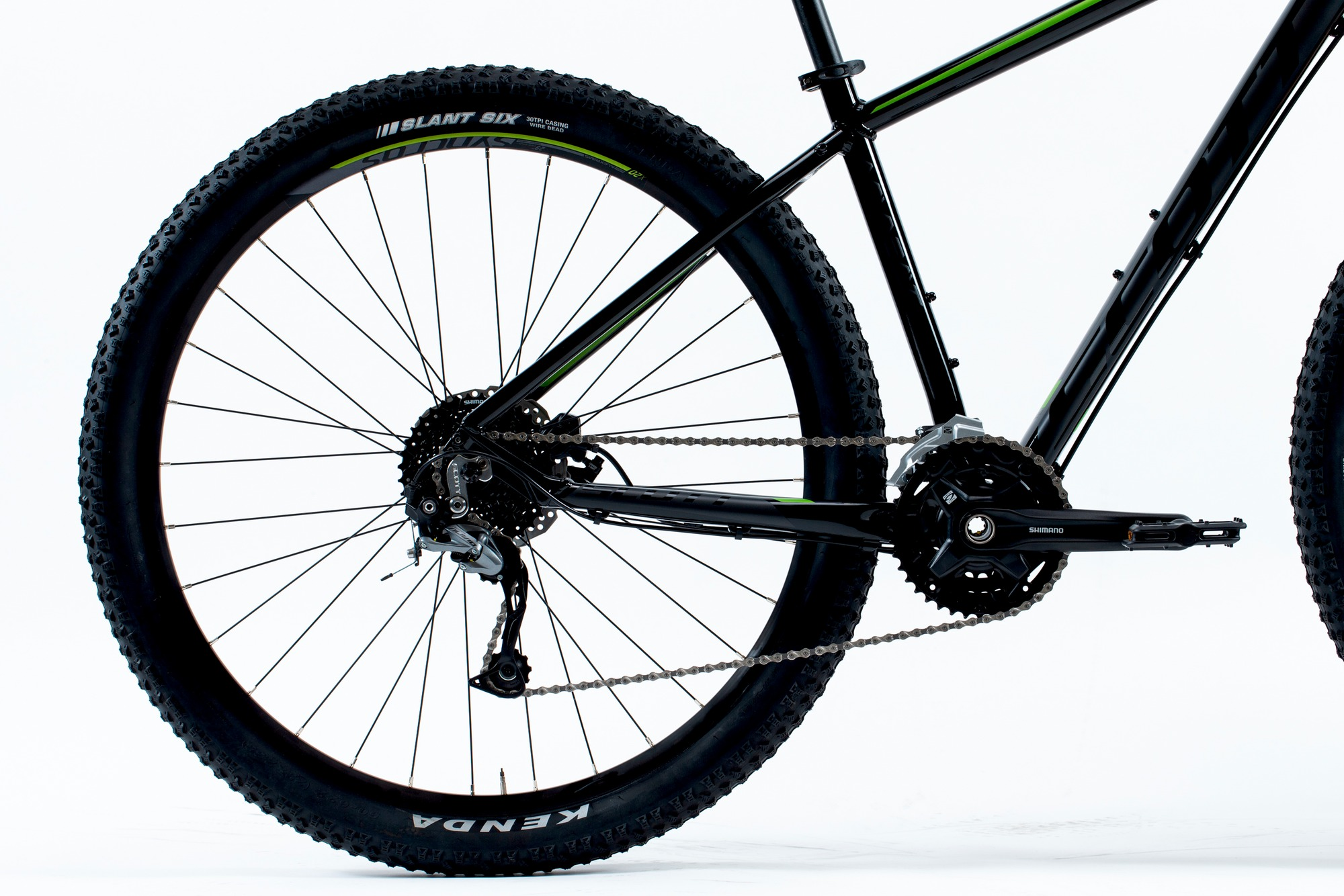 Bicicletta SCOTT Aspect 740 black/green
