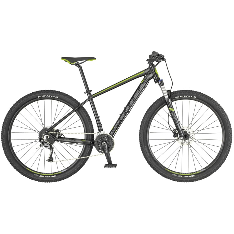 SCOTT Aspect 740 Black/Green Bike